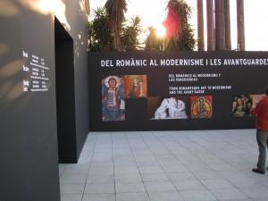 Palau Nacional de Montjuic exposición de Sorolla