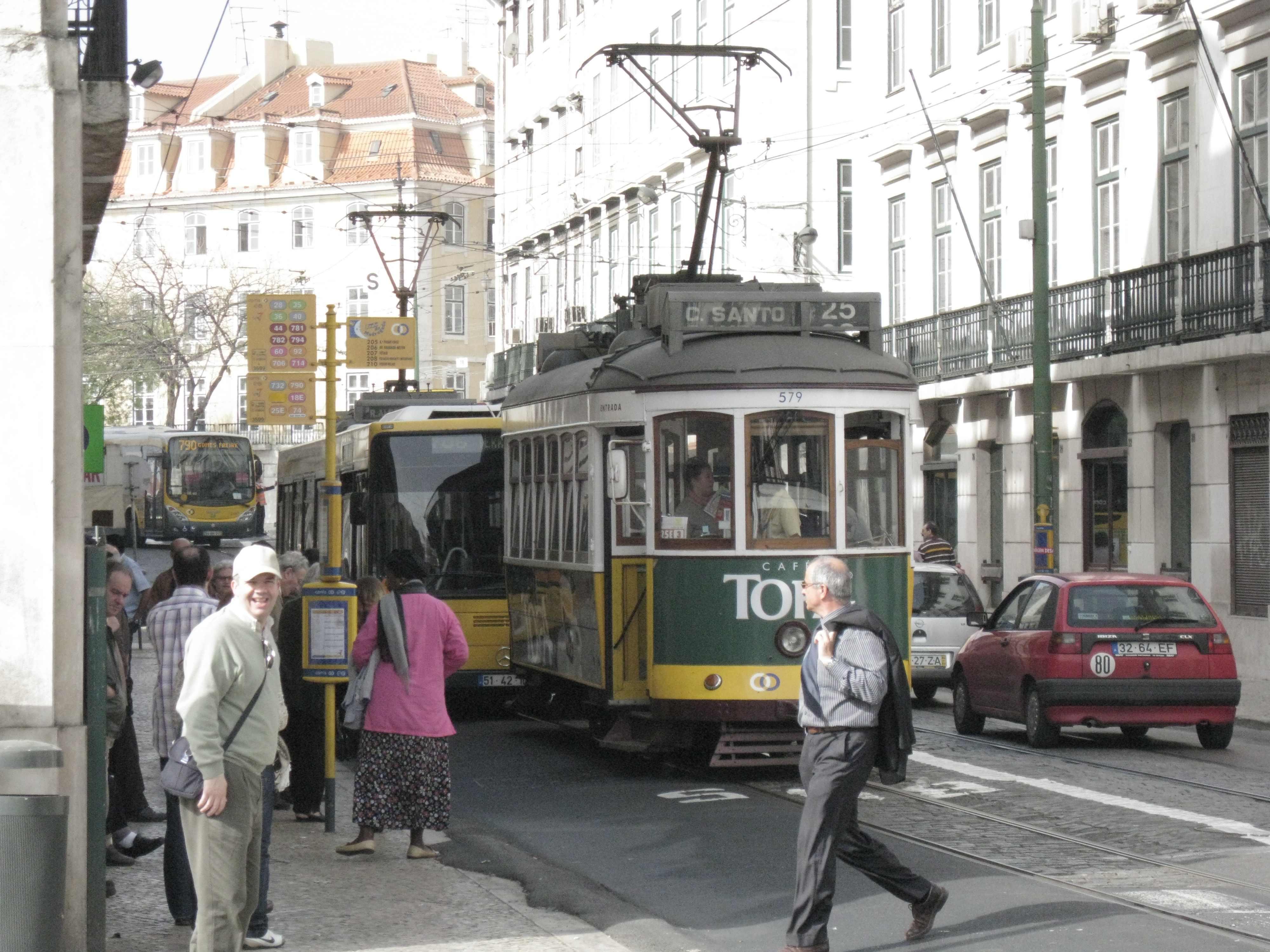 Xavi Carrasco en Lisboa