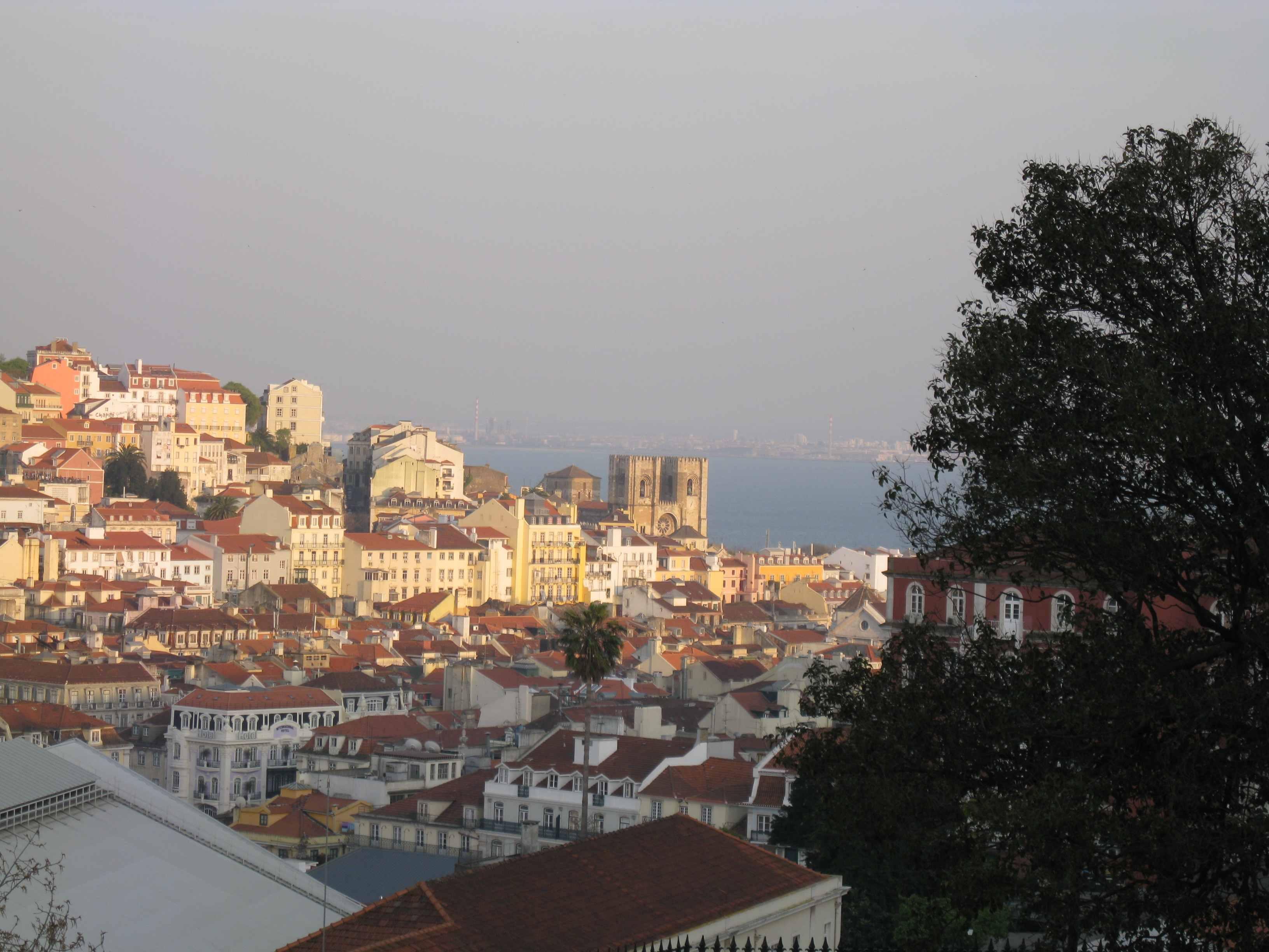 Lisboa desde la Colina